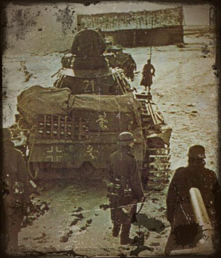 offensive allemande durant l'hiver 1941