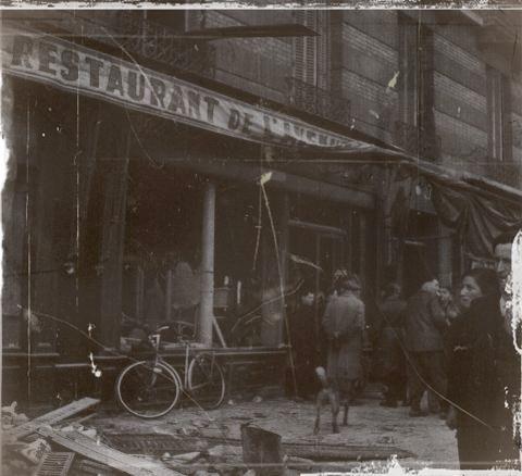 Boulogne bombardee en 1942